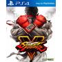 Street Fighter V Ps4 Fisico Sellado Raul Games