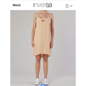 Vestido Marca Inversa Talle M (42)