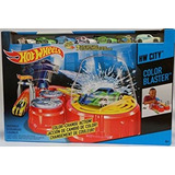Juguete Hot Wheels Color Blaster Incluye 7 Cambio De Color
