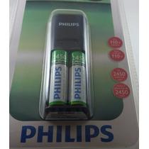 Carregador De Pilha Aa X2 Philips
