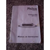 Manual De Instruções Compact Dvd Philco Dvt 101
