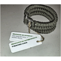 Brazalete Paracord 550 Suelta Rápida Trilobite Pulcera