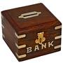 Caja Fuerte Con El Dinero De Madera Piggy Bank For Boys Niñ