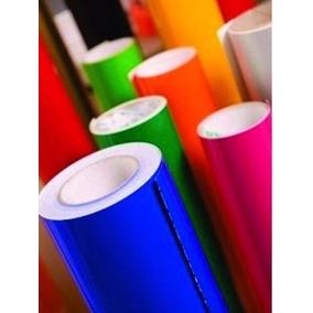 Vinil Adesivo Envelopamento Colorido 1m X 50cm - Silhouette