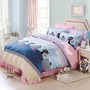 Cliab Cat Bedding Full Black And Pink Blue Polka Dots And S