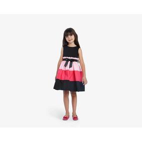 Vestido Up & Down Girls Negro Pr-4984052