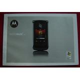 Motorola Razr² V8 - Apenas O Manual
