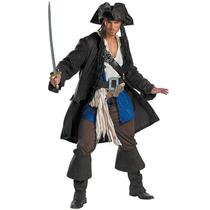 Disfraz Pirata Jack Sparrow Piratas Del Caribe Adultos