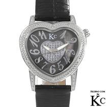 Reloj Techno Com Damas 12 Diamantes Intercambia Correas1 Sp0