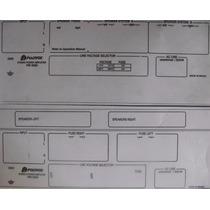Polivox Pm 5000 Adesivos Painel Traseiro