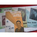 Francisco Alves Lote Com 4 Partituras Com Foto Dele Na Capa