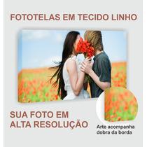Foto Tela Canvas/linho - Melhor Custo - Foto 90x60 Baixou!