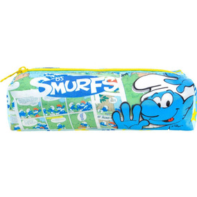 Estojo Simples Smurfs Comics