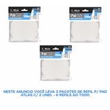Refil P/ Pad De Recorte De Pintura - 3 Pct C/ 2 Unid Atlas