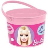 Tobo Plastico Cotillon O Centro De Mesa Barbie
