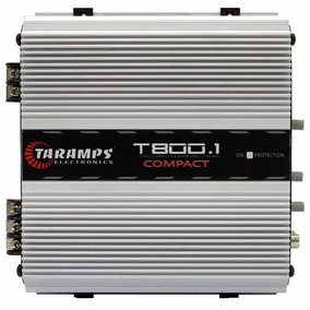 Módulo Amplificador Taramps T800 Compact 800w 1 Canal 2ohm