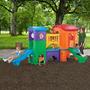Casa Club Para Niños Con Dos Resbaladillas Step 2