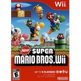 New Super Mario Bros Wii Nuevo Sellado Original.