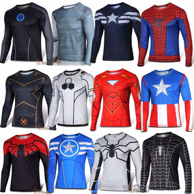 Roupa Cosplay Super Herois Marvel Dc Comics Batman Fitness