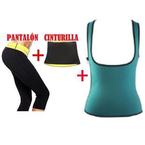 Hot Shapers Pantalón Cinturilla Camisa Senos Libres Envio G.