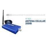 Kit Amplificador Repetidor Celular Rp860 Vivo Antena 20dbi