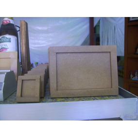 Cajas, Portaretratos, Manualidades, Todo En Madera, Mdf