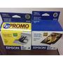 Epson T028 X2 + T029 Originales P/c60