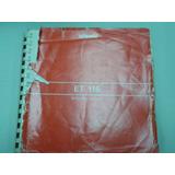Libro Manual De Operador Maquina De Escribir Olivetti Et 116