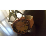 Reloj Simil Madera Vintage Wood Bambu Por Mayor