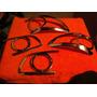 Accesorios Kit Cobertor Stop Cromados Hyundai Sante Fe 06-09