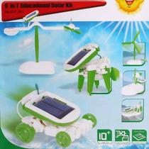 Excelente Juguete Kit Didactico Solar 6 En 1