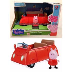 Brinquedo Carro Carrinho Da Peppa Pig Original Estrela