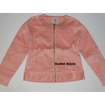 Linda Jaqueta/casaco/blusa Feminino Infantil Malwee
