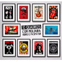 10 Quadros Musica Rock Decoracao Sala Moldura Paspatur