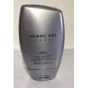 Homme 033 Code After Shave Gel Para Despues De Afeitar Lbel