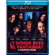 ¿y Donde Esta El Fantasma?.a Haunted House Pelicula Blu-ray