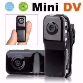 Mini Dv Filmadora Hd Camera Espia 5.0 Mp C/ Detector Movimen