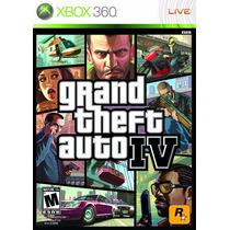 Gta San Iv 4 Grand Theft Auto Mídia Física Xbox 360