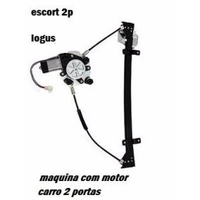 Maquina Vidro Eletrico Motor Escort Sapao Logus 2p