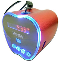 Bocina Portatil Manzana Para Usb Micro Sd Radio Fm Tablet