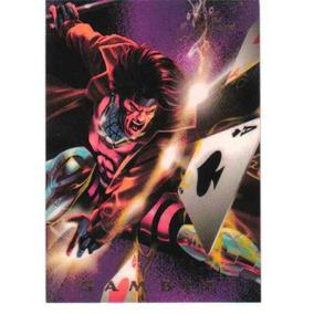Tarjeta Especial De Gambit Flair 1994 Power Blast 12 Of 18