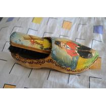 Sueco Madera C Cepillo Lustra Zapatos Holanda Calzado Señor2