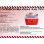 Contenedor Para Agujas 13,50 Litros, Sharp Container 13,50 L