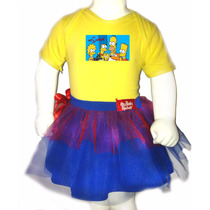 Disfraz Halloween Para Bebes Pañalero +tutu- Simpsons