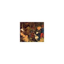 Pintura Arte Figures In A Park Paris Art, 16 X12