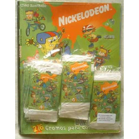 Album De Figurinhas - Nickelodeon