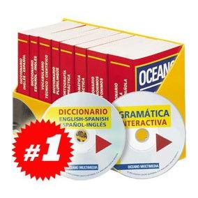 Equipo Didáctico Océano 9 Diccionarios + 2 Cd-roms