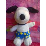 Snoopy De Peluche Vestido Con Short Playero