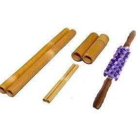 Rolo De Massagem Turbinada + Kit Bambu (promoção)
