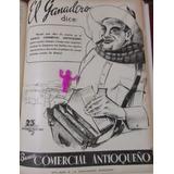 Banco Comercial Antioqueño Publicidad Antigua 1950 S7